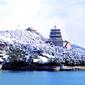 世界遺産 頤和園雪景色