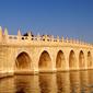 世界遺産 頤和園十七孔橋