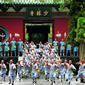 世界遺産 禅宗祖庭、カンフーの里-少林寺