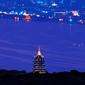 世界遺産 西湖雷峰塔夜景