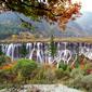 世界遺産 九寨溝-ノリラン瀑布