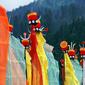 世界遺産 黄龍-チベット族