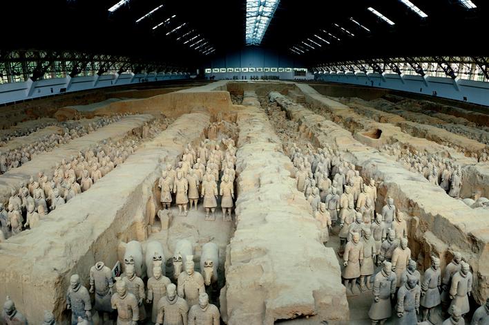 秦の始皇帝陵と兵馬俑坑