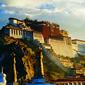 世界遺産 ポタラ宮の朝