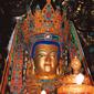 世界遺産 大昭寺-黄金の釈迦牟尼像