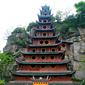 重慶-石宝寨(清代の楼閣)