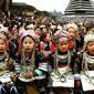 貴州-侗族大歌女の子達