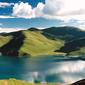 チベット-ヤムドク湖