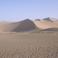 敦煌-鳴沙山の砂漠