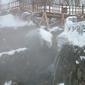 長白山83℃温泉