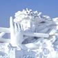 ハルピン氷雪祭り-雪の彫刻