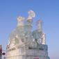 ハルピン氷雪祭り-氷の彫刻