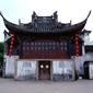 浙江-古劇の野外舞台