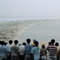銭塘江の大逆流